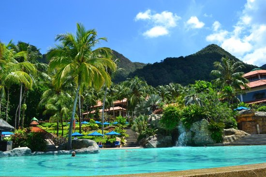 Berjaya Langkawi Resort - Malaysia: View  from the Pool