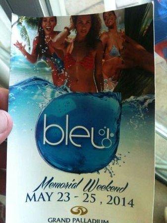 Grand Palladium Lady Hamilton Resort & Spa: Rowdy Bleu weekend