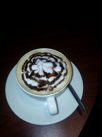 The Soweto Hotel on Freedom Square: Best cappuccino in town. Soweto hotel.