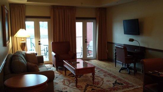 Water Street Hotel & Marina : Sitting room