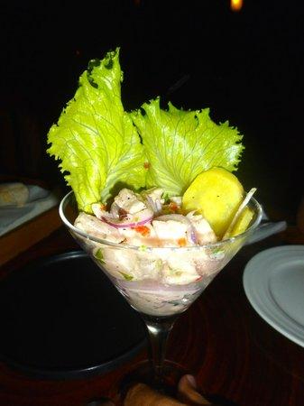 Restaurante Alma de Santa Teresa : White Fish Ceviche