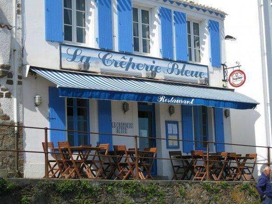 La cr perie bleue le d 39 yeu restaurant avis num ro de t l phone - Hotel sur l ile d yeu ...