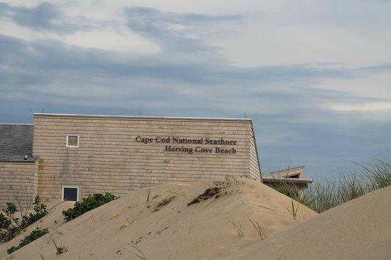 Herring Cove Beach : Herring Beach entrance