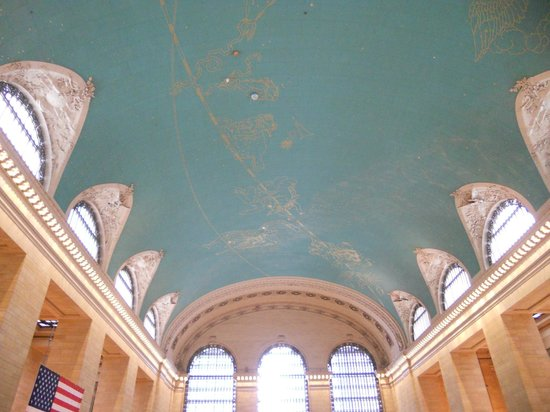Grand Central Terminal: ceiling