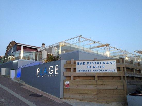 Restaurant picture of restaurant la plage vieux boucau for Bains les bains restaurant