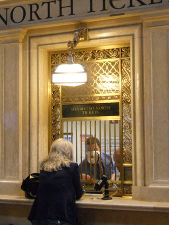 Grand Central Terminal: ticket booth