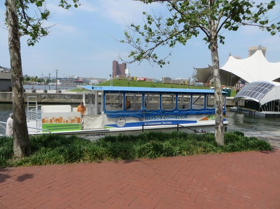 Baltimore Marriott Waterfront: Water Commuter, and they have a Water Taxi to take you around