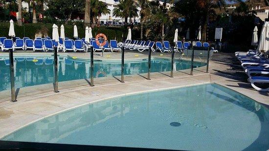 Hotel Los Patos Park: Pool area