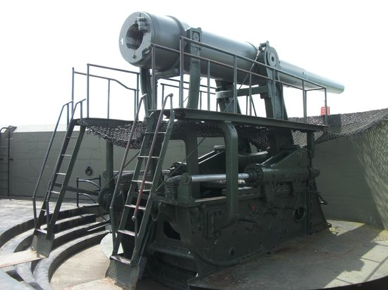 Fort Casey State Park: One of the big guns
