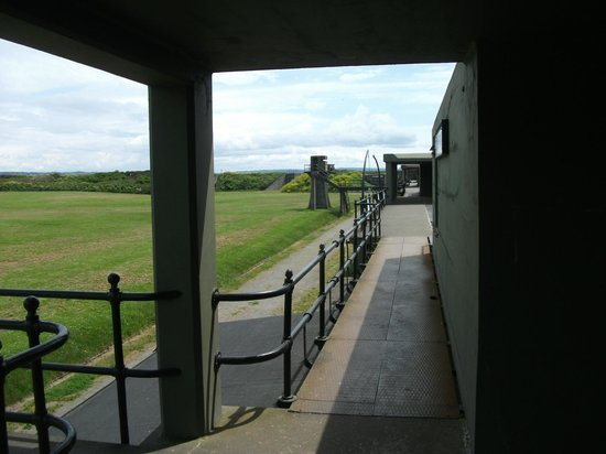 Fort Casey State Park: Rear of fortifications