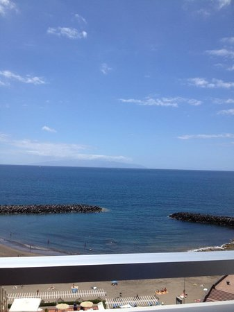 H10 Gran Tinerfe: seaview from our balcony