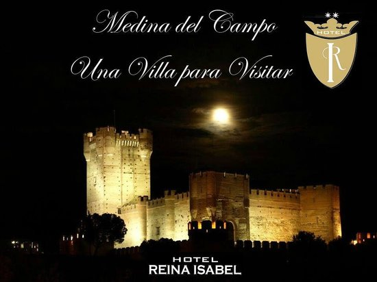 Hotel Reina Isabel: Castillo de La Mota a cinco minutos andando