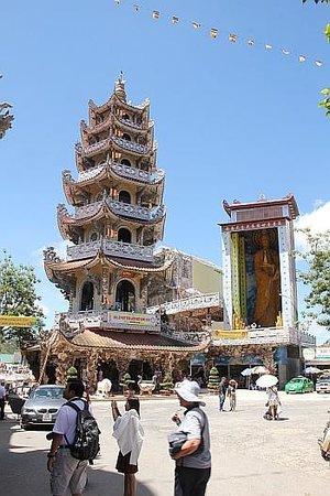 Pagode de Linh Phuoc : Pagoda perfect
