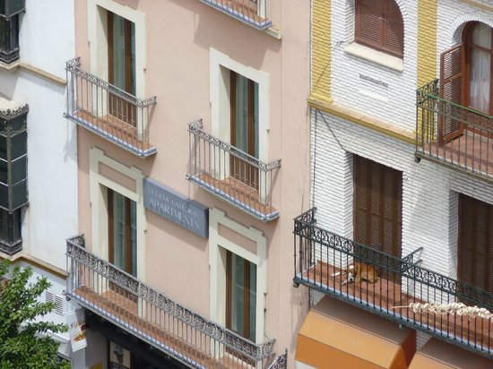 Puerta Catedral Suites: Puerta Catedral suite from the Giralda
