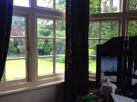 Findon Manor Hotel : view from window