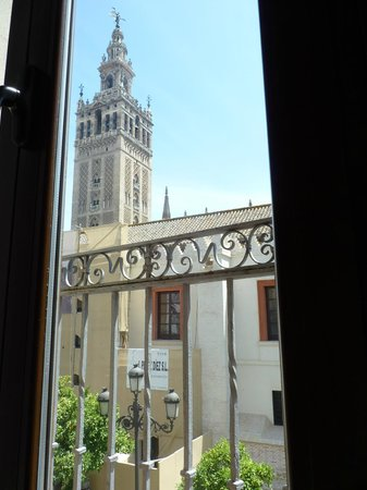Puerta Catedral Suites: View from the suite