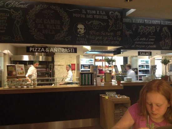 Vapiano: Order your pizza here!