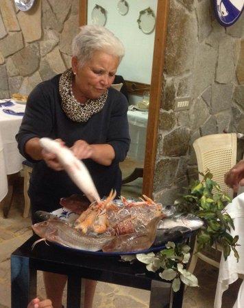 Ristorante Bri: The fresh fishes