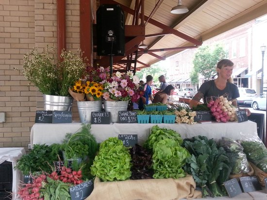 City Market : Wed afternoon vendors