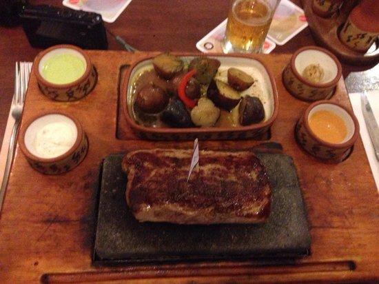 Zig Zag Restaurant: Alpaka Steak 300 g