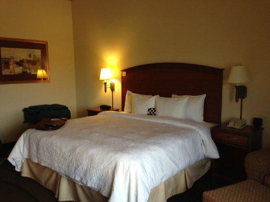 Hampton Inn & Suites Parker: king size bed