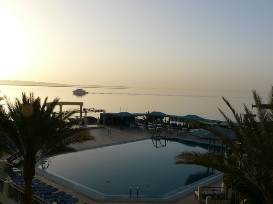 SUNRISE Holidays Resort: early morning view from balcony