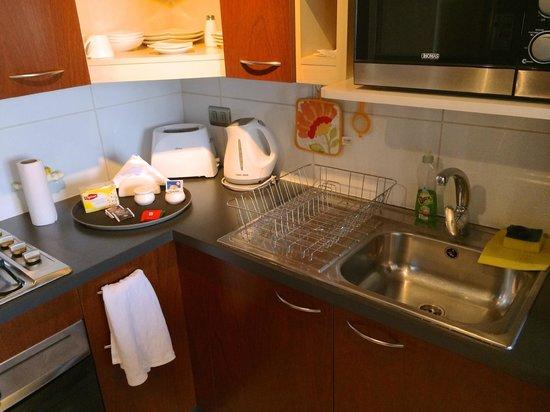 Trivento Apparts: Kitchen area