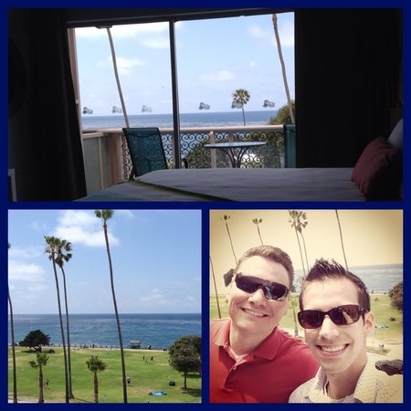 La Jolla Cove Hotel & Suites: Balcony View/Room