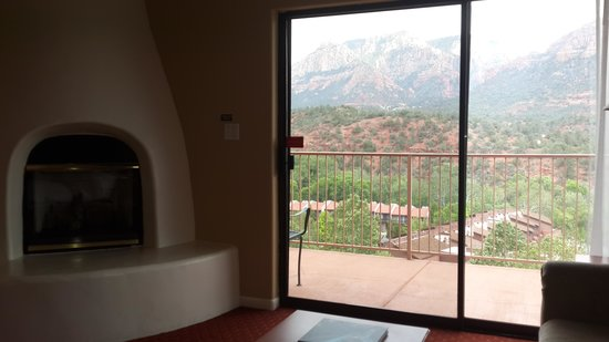 The Orchards Inn of Sedona: View from Room Orchards Inn Sedona