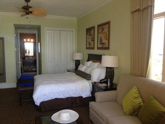 Sandpearl Resort: Bedroom - 1 bdrm deluxe suite