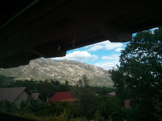 BlueSense Sierra Madrid: vistas desde la 206