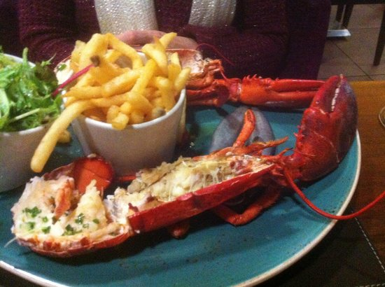 Radisson Blu Edwardian Manchester: Lobster and Chips