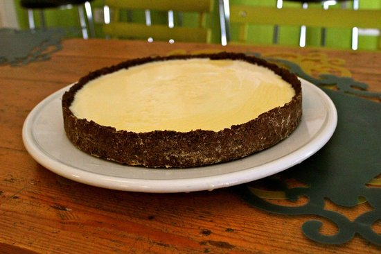 ¡Viva María!: Tarta de chocolate blanco.