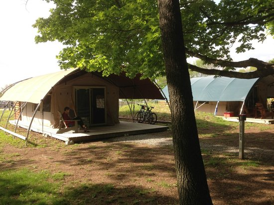 Long Point Eco-Adventures: Our tent (#1)
