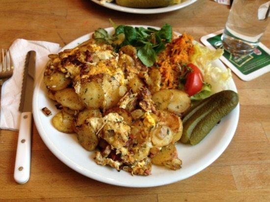 Cafe Chaos: almoço muito bem servido