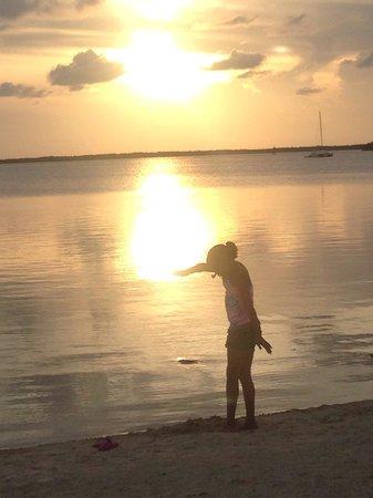 Hampton Inn Key Largo: Beautiful sunset