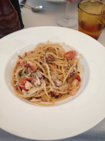 Ristorante all'olivo: Pasta with seafood
