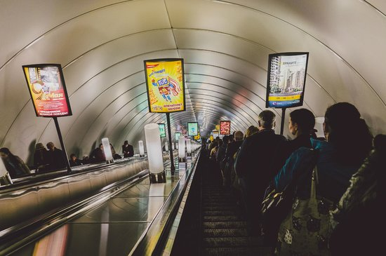 SPB Tours : deepest subway station