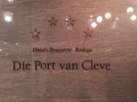 Die Port van Cleve: hotel