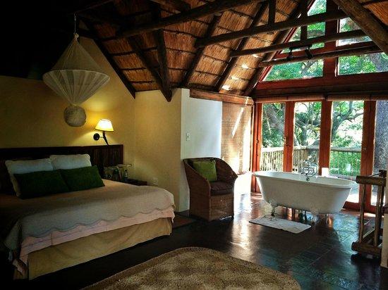 Hluhluwe River Lodge : our stunning room