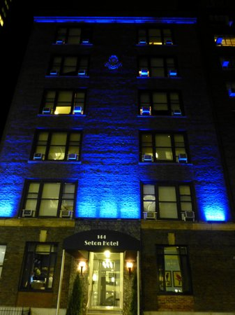 The Seton Hotel at Night