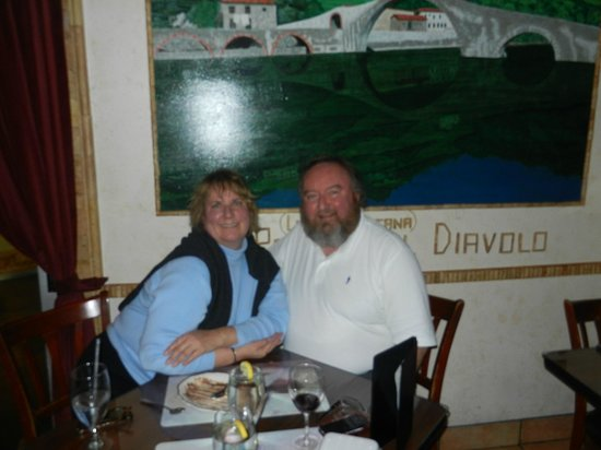 Caruso's Tuscan Cuisine : One of only six tables
