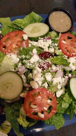 Main Street Cafe: Greek Salad