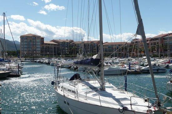 Residence Mer & Golf Port Argelès : Port et résidence