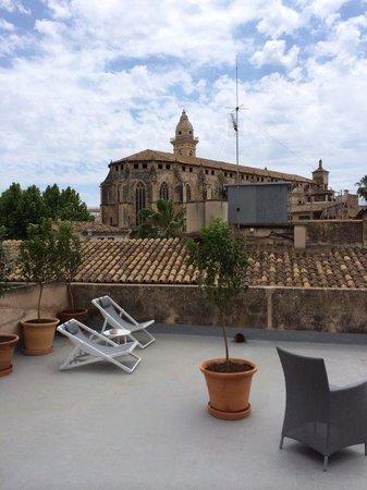 Posada Terra Santa: Roof terrace