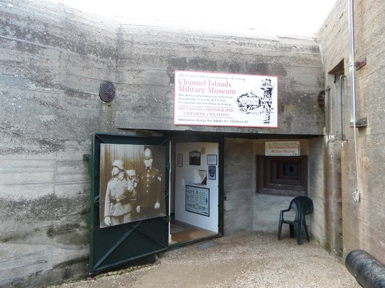 The Channel Islands Military Museum: Museum