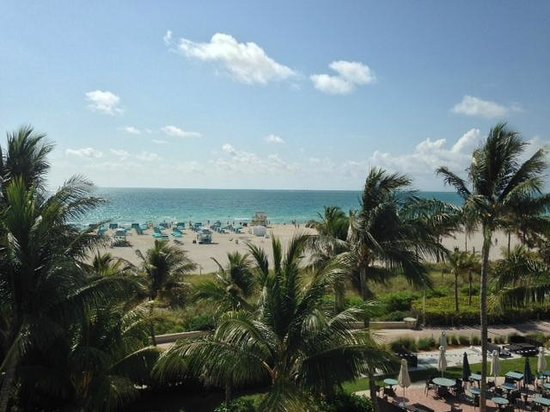 The Ritz-Carlton, South Beach: View from my Beach Front Room
