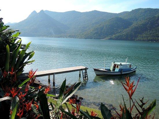 Interacao Ambiental Day Tours: Vue depuis le refuge de Mamangua