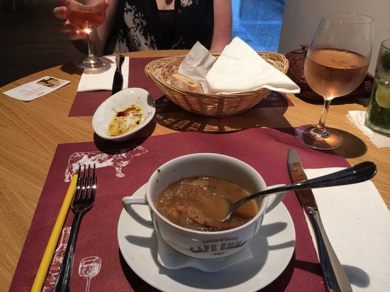 Hotel UNIC Prague: Onion soup