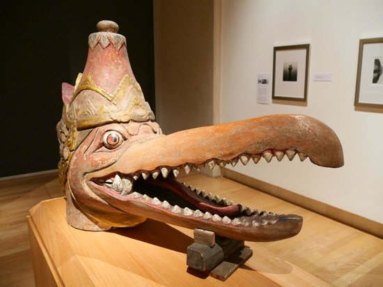 The Cummer Museum of Art and Gardens : Indonesian Canoe Totem